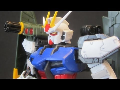 RG Sky Grasper & Launcher / Sword Pack (Unbox) Gundam Seed Strike addon review