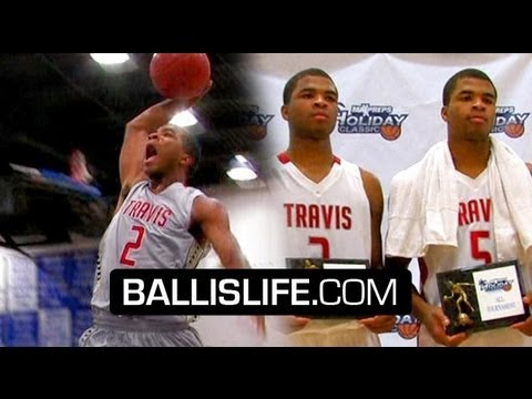 The Harrison Twins DOMINATE With STYLE! The Most Exciting Duo Invade MaxPreps Holiday Classic!!