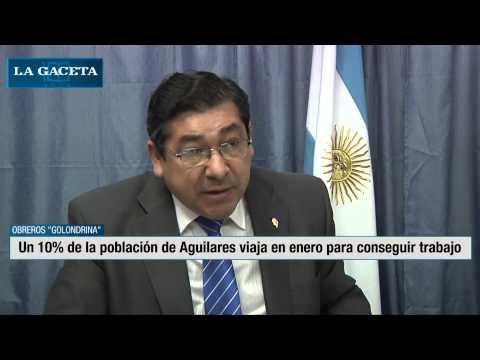 Un 10% de la población de Aguilares viaja en enero para conseguir trabajo