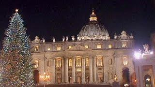 """بالفيديو..استعدادات مدينة """"الفاتيكان"""" لأعياد الميلاد"""