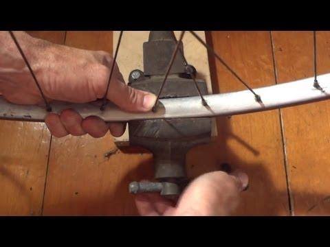 How To Repair A Dented Bike Rim