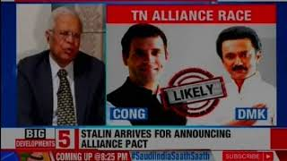 Battle for Tamil Nadu: BJP-AIADMK vs Congress-DMK? - NEWSXLIVE