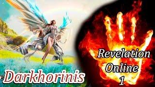 Стрим Revelation Online - Изучаем игру, смотрим классы, начальный геймплей. # 1