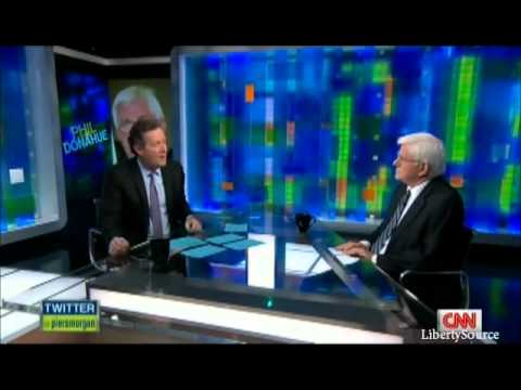 Phil Donahue on Ron Paul & Foreign Policy CNN 1/5/12