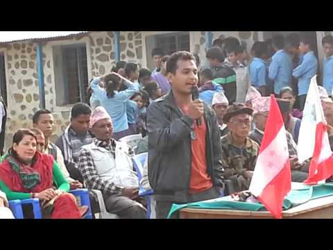 Election Campaign Speech by Madan Pahadi (Khangsang)
