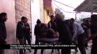 Civilians Pay Heavy Price as Fighting Nears Afrin in Northern Syria - VOAVIDEO
