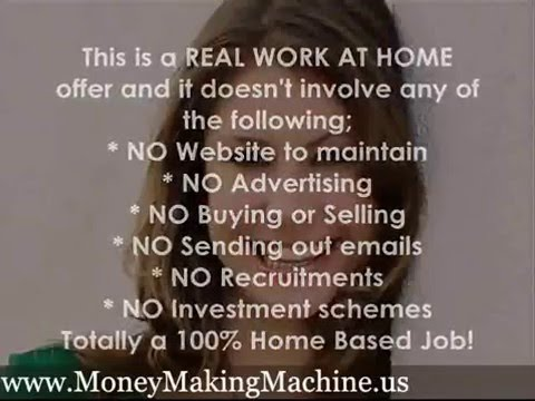  Get Paid to Work at Home Work at Home