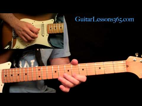 Stevie Ray Vaughan - Texas Flood Guitar Lesson Pt.2 - Verse 1 & 2