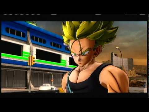 Dragonball Z Ultimate Tenkaichi: Future Saga -\/- Trunks Vs Android 18 & 17!