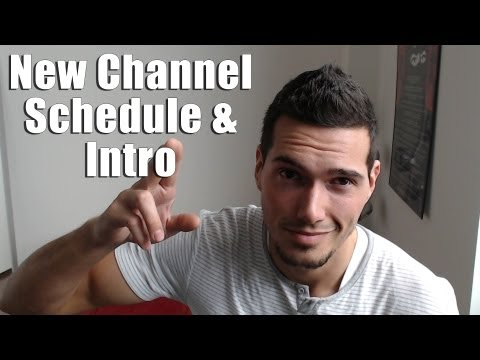 Adam Evans New Channel Schedule and Introduction