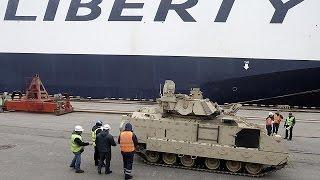 مناورات عسكرية في دول البلطيق تحت إشراف واشنطن والأطلسي