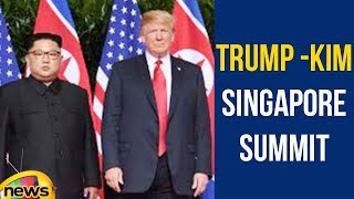 President Trump Participates in a One on One Meeting with North Korean Leader Kim J   Mango News - MANGONEWS