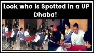 Spotted in a UP dhaba! Congress leaders Rahul, Priyanka Gandhi take selfie, drink tea with locals - NEWSXLIVE