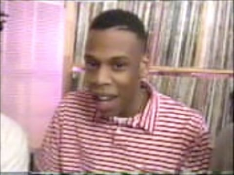 Jay Z - A Young Jay Z Freestyles On TV In 1990
