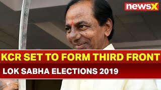 KCR to Set out to Form Third Front; to meet Opposition Leaders, Sources - NEWSXLIVE