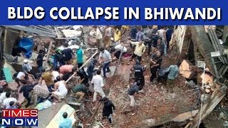 Building Collapses In Thane's Bhiwandi; 1 Dead, 5 Injured - TIMESNOWONLINE