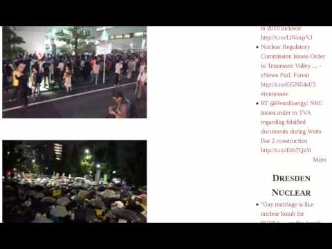 Protest Police Live Official Residence Shut Chairman Underground Tokyo Massive Report Fukushima