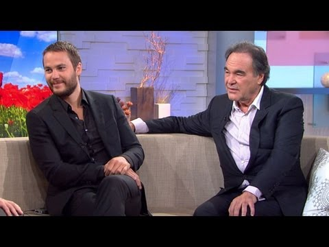 Oliver Stone and Taylor Kitsch on New Drug Film, 'Savages'