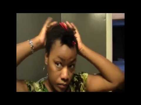 4C Hair: Quick Hairdo 1