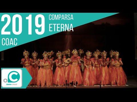 La agrupación Eterna llega al COAC 2019 en la modalidad de Comparsas. Primera actuación de la agrupación para esta modalidad.
