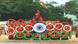 Minister Prathipati Pulla Rao Hoists The National Flag at Eluru Police Parade Ground | CVR NEWS - CVRNEWSOFFICIAL