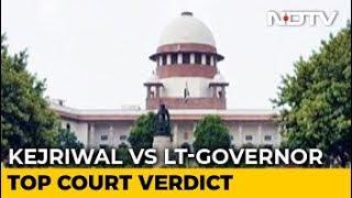 In Arvind Kejriwal vs Lt Governor, Top Court Judges Differ On Key Issue - NDTV