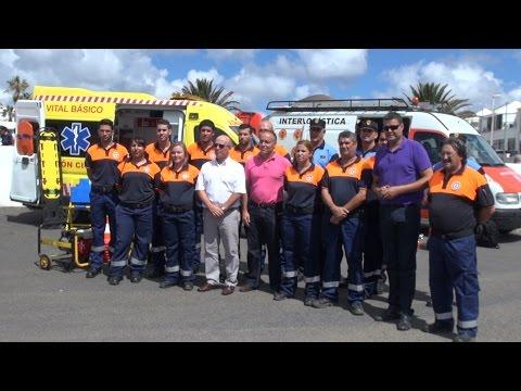 Nueva Ambulancia Protección Civil Tías