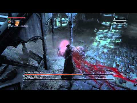 Bloodborne - The Witch of Hemwick [HD]