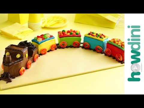 Train birthday cake decorating ideas How to make a cake