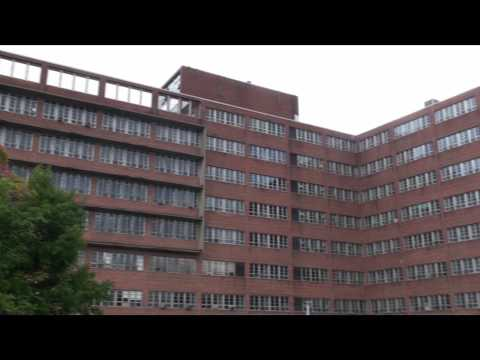 Huge Abandoned Hospital Mental Asylum Complex With Morgue