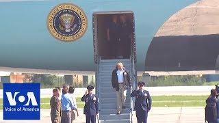 Trump arrives in North Carolina - VOAVIDEO