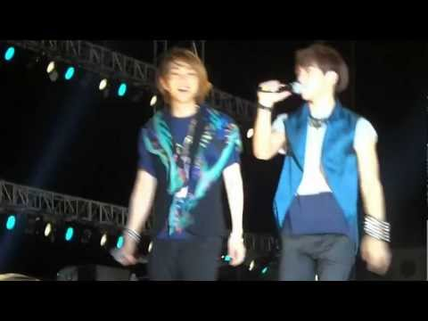 120626 EXPO Pop Stage  SHINee  Onew&JongHyun&TaeMin