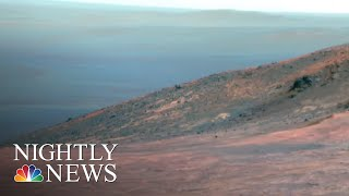 NASA Ends 15-year 'Opportunity' Mission On Mars After Losing Contact | NBC Nightly News - NBCNEWS
