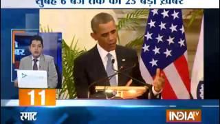 India TV News: 5 minute 25 khabrein   January 26, 2015 - INDIATV