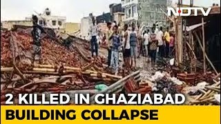 Two Dead As 5-Storey-Building Collapses In Ghaziabad Near Delhi - NDTV