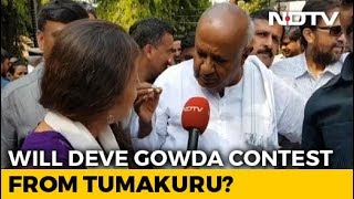 """Yet To Decide"": HD Deve Gowda Keeps People Guessing About Lok Sabha Seat - NDTV"