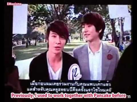 [ENG SUB] 110624 Donghae Kyuhyun Interview CUT : 12Plus Miracle CC Jewelry Powder CF BTS