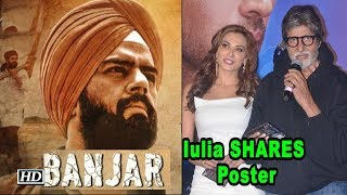 Iulia Vantur SHARES Maniesh Paul's SIKH LOOK from 'BANJAR' - IANSLIVE