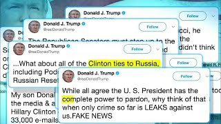 Trump Claims 'Complete Power to Pardon' in Tweetstorm - NBCNEWS