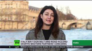 Italy's intention to back China's 'Silk Road' is a 'message to maximise EU interests' - RUSSIATODAY