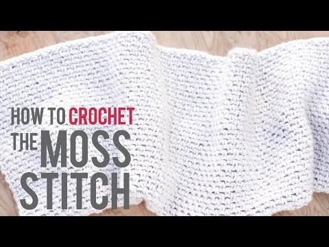 How to Crochet the Moss Stitch: Beginner-Friendly Tutorial
