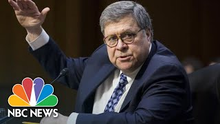 Barr Suggests Mueller Report May Not Be Made Public | NBC News - NBCNEWS