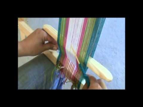 Tonon y tejido en el telar mapuche