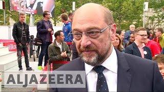 German election 2017: Martine Schulz unable to make headway against Angel Merkel - ALJAZEERAENGLISH