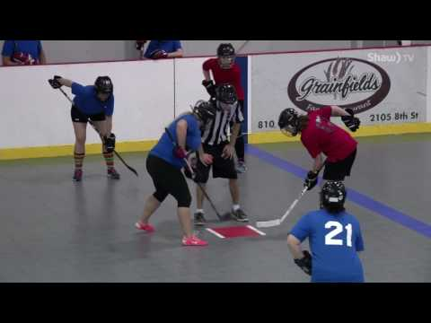 Sask Ball Hockey - Womens A Division Final