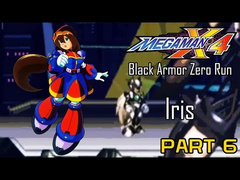 Mega Man X4 - Black Armor Zero Part 06: Iris | Too Much Gaming
