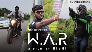 W.A.R | A Telugu Shortfilm from SPOTLIGHT | Directed by RISHI - YOUTUBE