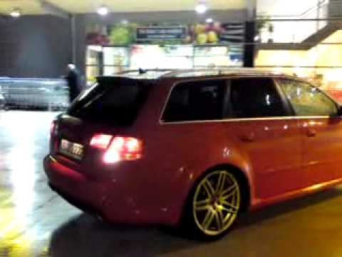 Audi RS4 Avant 420PS Engine start up 1:14
