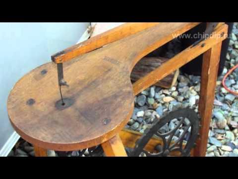 часы из дерева чертежи