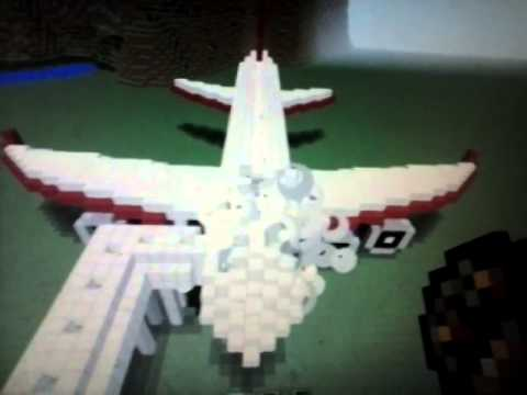 Minecraft plane destruction
